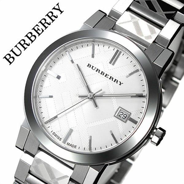 バーバリー メンズ 腕時計 男性 [BURBERRY] 時計 シティ ( The City ) シルバー BU9037 [おすすめ ブランド バーゲン プレゼント ギフト オシャレ メタル ベルト][おしゃれ 腕時計]