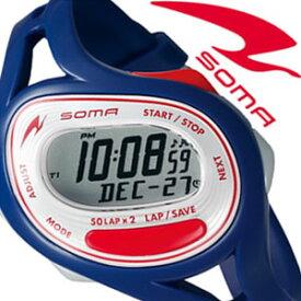 【5年保証対象】ソーマ 腕時計 SOMA 時計 ソーマ 時計 SOMA 腕時計 メンズ レディース グレー NS23003 新作 人気 正規品 ブランド ランニングウォッチ マラソン ランニング ウォーキング スポーツ