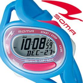 [当日出荷] 【5年保証対象】ソーマ 腕時計 SOMA 時計 ソーマ 時計 SOMA 腕時計 メンズ レディース グレー NS23004 新作 人気 正規品 ブランド ランニングウォッチ マラソン ランニング ウォーキング スポーツ