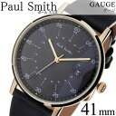 ポールスミス 腕時計 PAULSMITH 時計 ポールスミス 時計 PAUL SMITH 腕時計 ゲージ GAUGE 41MM メンズ グレー P10076 …
