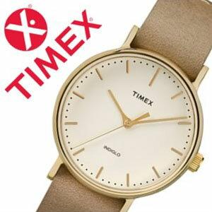 【5年保証対象】タイメックス 腕時計 TIMEX 時計 タイメックス 時計 TIMEX 腕時計 ウィークエンダー フェアフィールド Weekender Fairfield 37mm メンズ レディース ホワイト S-TW2P98400 人気 ブランド アンティーク カジュアル レザー ベルト 革 ベージュ 送料無料