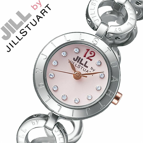 ジルバイジルスチュアート腕時計 JILLbyJILLSTUART時計 JILL by JILLSTUART 腕時計 ジル バイ ジルスチュアート 時計 レディース ピンク NJAR002 [新作 人気 正規品 ブランド 防水 メタル シルバー][おしゃれ 腕時計][ 父の日 父の日ギフト ]