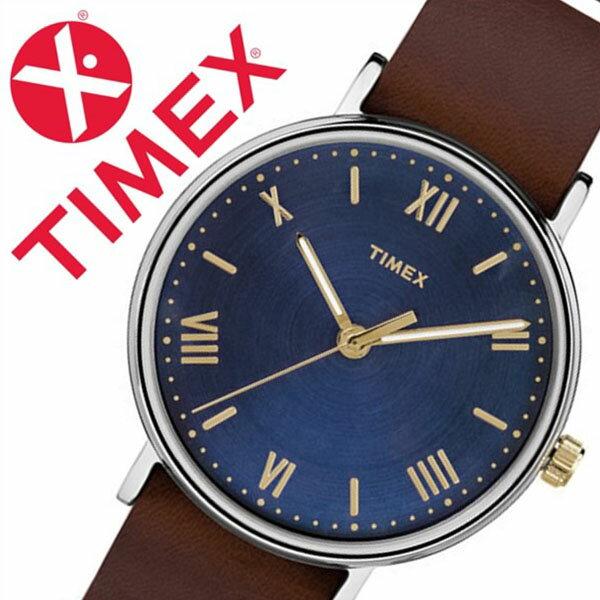 【5年保証対象】タイメックス 腕時計 TIMEX 時計 タイメックス 時計 サウスビュー ノーインディグロ SOUTHVIEW 41MM NO INDIGLO メンズ ネイビー S-TW2R28700 人気 トレンド ブランド カジュアル ファッション シンプル 革 レザー ベルト タン 送料無料[ 父の日 ]