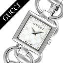 グッチ 腕時計[GUCCI 時計]グッチ 時計[GUCCI 腕時計]トルナヴォーニレディース/ホワイト YA120517 [人気/ブランド/防水/高級/プレゼント/ギフト/メタル ベルト/シルバー/シ