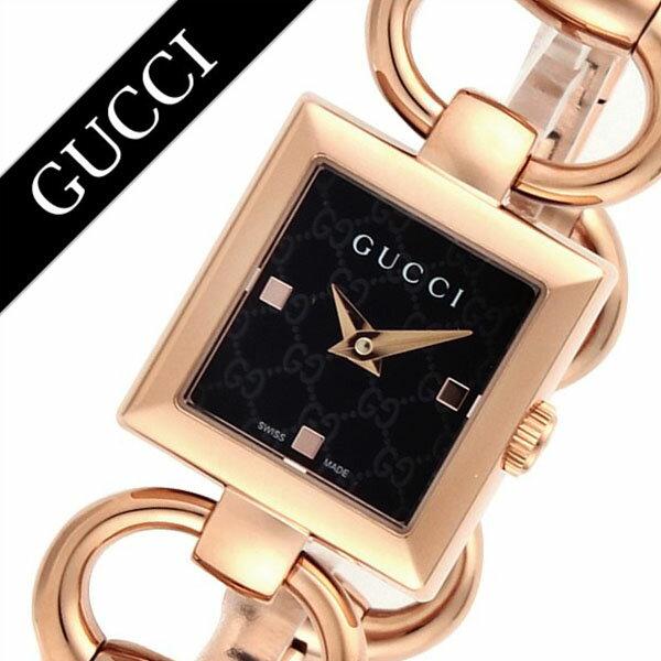 グッチ 腕時計 GUCCI 時計 グッチ 時計 GUCCI 腕時計 トルナヴォーニレディース ブラック YA120521 人気 ブランド 防水 高級 プレゼント ギフト メタル ベルト ローズゴールド 送料無料