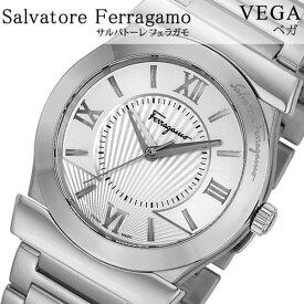 edf05ee5b0 Salvatore Ferragamo 腕時計 サルバトーレフェラガモ 時計 ベガ VEGA メンズ シルバー FI0990014 [腕時計 フェラガモ  スイス製