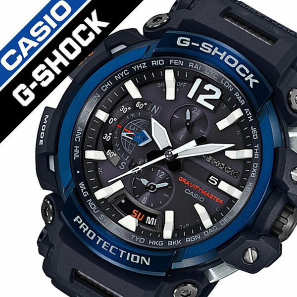 【5年保証対象】カシオ 腕時計 CASIO 時計 カシオ 時計 CASIO 腕時計 ジーショック グラビィティマスター G-SHOCK GRAVITYMASTER メンズ ブラック GPW-2000-1A2JF 正規品 新作 防水 タフネス タフ ソーラー Gショック 送料無料