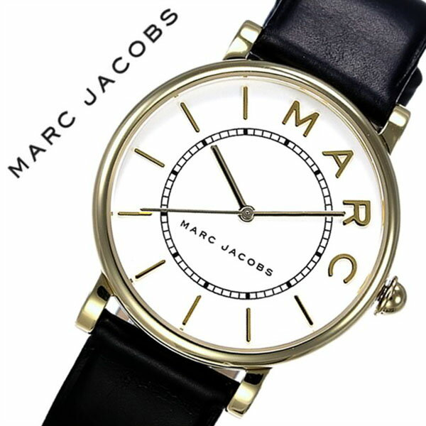 マークジェイコブス 腕時計 MarcJacobs 時計 マーク ジェイコブス 時計 Marc Jacobs 腕時計 ロキシー ROXY レディース ホワイト MJ1532 人気 マークバイマークジェイコブス ブランド シンプル 防水 ペアウォッチ ゴールド ブラック レザー 革 送料無料[ 成人式 成人 祝い ]