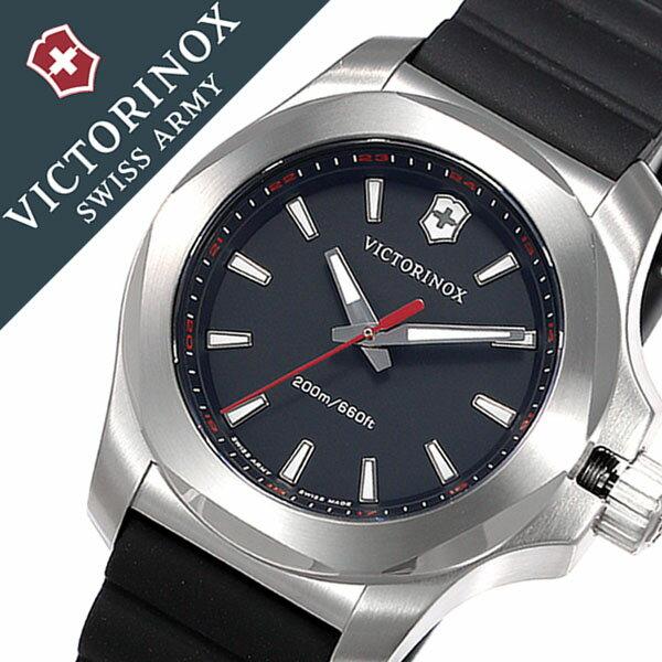 ビクトリノックス スイスアーミー腕時計 VICTORINOX SWISSARMY時計 VICTORINOX SWISSARMY 腕時計 ビクトリノックス スイスアーミー 時計 イノックス ブイ INOX V レディース ブラック VIC-241768 [新作 正規品 ブランド 防水 バンパー ラバー 241768][おしゃれ 腕時計]