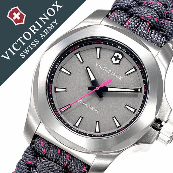 ビクトリノックス スイスアーミー腕時計 VICTORINOX SWISSARMY時計 VICTORINOX SWISSARMY 腕時計 ビクトリノックス スイスアーミー 時計 イノックス ブイ INOX V レディース グレー VIC-241771 [新作 正規品 ブランド 防水 バンパー 戦車 ミリタリー パラコード 241771]
