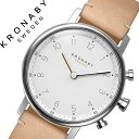 クロナビー 腕時計[KRONABY 時計]クロナビー 時計[KRONABY 腕時計]ノード NORD ユニセックス/ホワイト A1000-1914[正規品/北欧...