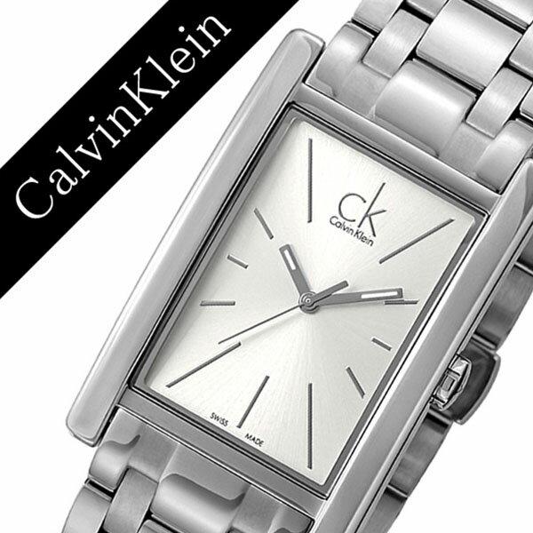カルバンクライン 腕時計 CalvinKlein 時計 カルバン クライン 時計 Calvin Klein 腕時計 リファイン REFINE メンズ ホワイト K4P21146 人気 ブランド シーケー スイス メタル プレゼント ギフト スクエア シー ケー CK ビジネス ck 時計 送料無料