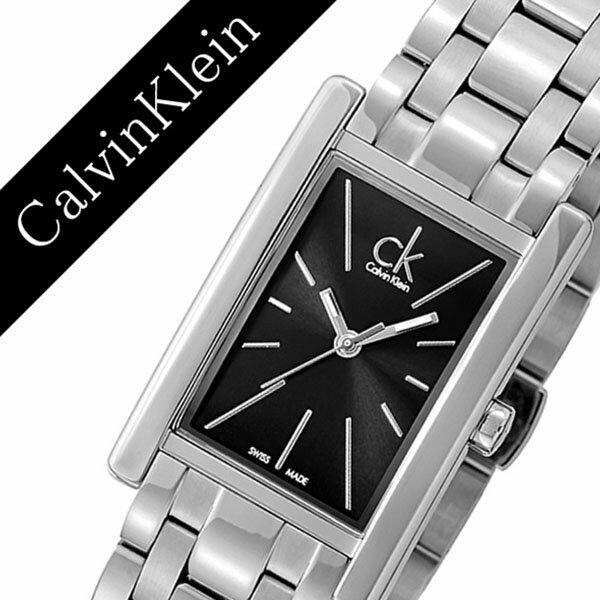 カルバンクライン 腕時計 CalvinKlein 時計 カルバン クライン 時計 Calvin Klein 腕時計 リファイン REFINE レディース ブラック K4P231.41 人気 ブランド シーケー スイス メタル プレゼント ギフト スクエア シー ケー CK ビジネス ck 時計 送料無料