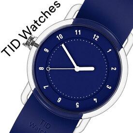 [当日出荷] ティッドウォッチズ 腕時計 TIDwatches 時計 ティッド ウォッチズ 時計 TID watches 腕時計 ナンバースリー NO3 メンズ レディース ネイビー TID03-38NV 正規品 人気 クリア ラバー 夏 ティッドウォッチシンプル おしゃれ カスタム 送料無料