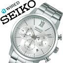 【5年保証対象】セイコー 腕時計 SEIKO 時計 セイコー 時計 SEIKO 腕時計 ワイアード WIRED メンズ シルバー AGAT414 …