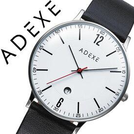 f371b4d5c3 アデクス腕時計 ADEXE時計 ADEXE 腕時計 アデクス 時計 グランデ GRANDE メンズ ホワイト 2046B-02 [