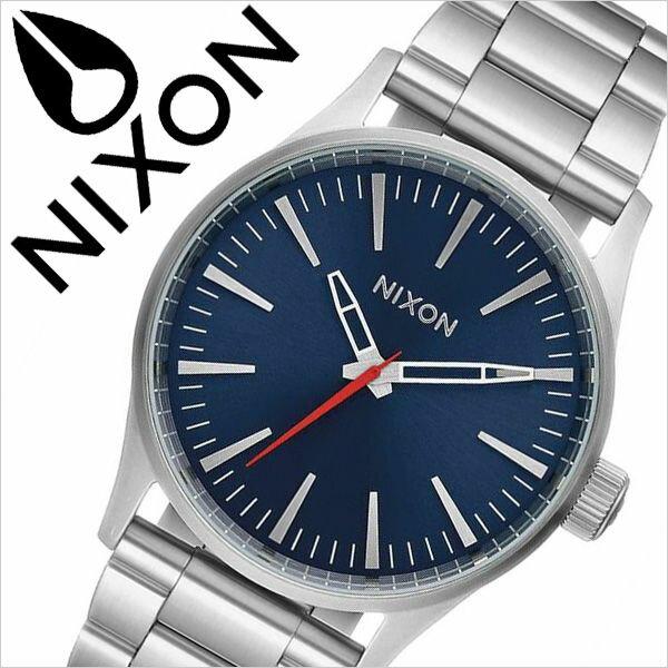ニクソン 腕時計 NIXON 時計 ニクソン腕時計 NIXON時計 セントリー38 SENTRY 38 レディース ブルー A450-1258 [ 防水 ペアウォッチ ステンレス メタル シルバー ]