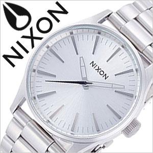 ニクソン 腕時計 NIXON 時計 ニクソン腕時計 NIXON時計 セントリー SENTRY 38 SS ALL SILVER メンズ レディース 男女兼用 シルバー A450-1920 [ メタル ベルト アナログ カスタム オールシルバー ]