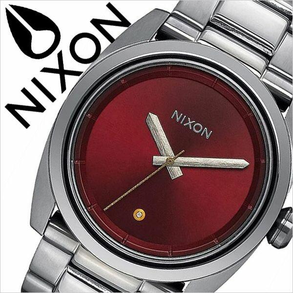 ニクソン 腕時計 NIXON 時計 ニクソン腕時計 NIXON時計 キングピン Kingpin メンズ レッド A507-2073 [ メタル ベルト アナログ カスタム シルバー レッド シンプル 防水 クリスタル プレゼント ギフト ]
