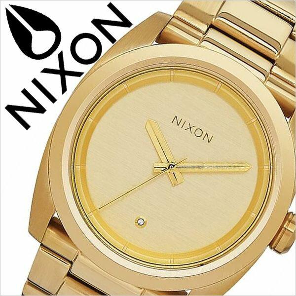 ニクソン 腕時計 NIXON 時計 ニクソン腕時計 NIXON時計 キングピン Kingpin メンズ ゴールド A507-502 [ メタル ベルト アナログ カスタム オールゴールド シンプル 防水 クリスタル プレゼント ギフト ]