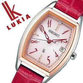 セイコー ルキア 腕時計 SEIKO 時計 LUKIA レディース ピンク SSVW122[正規品 ソーラー 電波時計 上品 シンプル 人気 おすすめ ビジネス ビジカジ 大人 かわいい おしゃれ ファッション カレンダー トノー型 ピンク ローズゴールド ステンレス プレゼント ギフト]