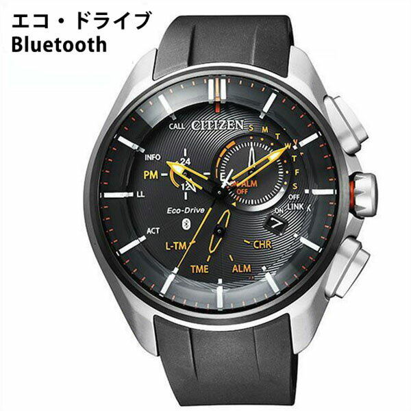 【5年保証対象】シチズン 腕時計 CITIZEN 時計 シチズン 時計 CITIZEN 腕時計 エコ・ドライブ ブルートゥース Eco-Drive Bluetooth メンズ ブラック BZ1041-06E [ ビジネス カジュアル Bluetooth 着信通知 スマホ スマートウォッチ iPhone Android ウレタン ][送料無料]