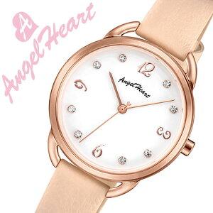 【5年保証対象】エンジェルハート腕時計AngelHeart時計エンジェルハート時計AngelHeart腕時計ヴィーナスVenusレディースホワイトVI31P-PKブランドファッションカジュアルスーツビジネスかわいいスワロフスキーレザーベージュギフト送料無料