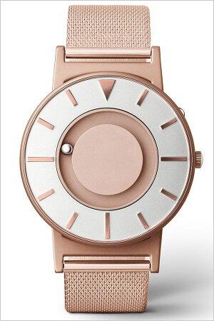 イーワン腕時計EONE時計イーワン時計EONE腕時計ブラドリーメッシュローズゴールドBRADLEYMESHROSEGOLDメンズレディースローズゴールドEONE-BR-RO-GLD[デザインウォッチおしゃれファッションタッチラウンドシンプルステンレスメタル][送料無料]