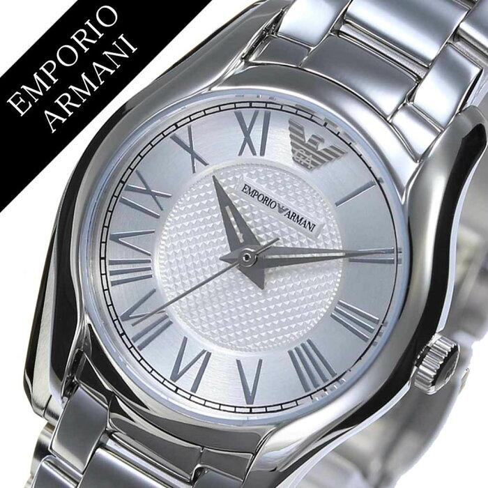 ff34144bf4 エンポリオアルマーニ腕時計EMPORIOARMANI時計エンポリオアルマーニ時計EMPORIOARMANI腕時計 ヴァレンテVALENTEレディースシルバーAR11087シルバー