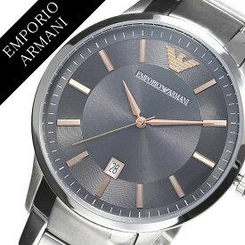 47cef14b85 エンポリオアルマーニ 腕時計 EMPORIOARMANI 時計 エンポリオ アルマーニ 時計 EMPORIO ARMANI 腕時計 レナト  RENATO メンズ グレー AR2514