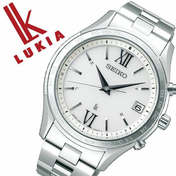 セイコー ルキア 腕時計 SEIKO LUKIA 時計 セイコー 時計 SEIKO 腕時計 メンズ シルバー SSVH025 ラウンド プレゼント ギフト シンプル カレンダー ペア ビジネス ファッション カジュアル ブランド 送料無料