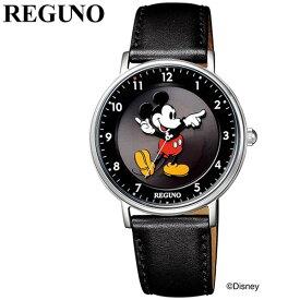 シチズン 腕時計 CITIZEN 時計 レグノ ディズニーコレクション ミッキーマウス REGUNO Disney Collection Mickey Mouse レディース ホワイト KP3-112-50 ソーラーテック ソーラー キャラクター かわいい おしゃれ シンプル クラシカル ペア お揃い リンク コーデ 丸型