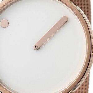 ピクト腕時計PICTO時計ピクト時計ピクト腕時計ローズゴールドケースアンドメッシュバンドROSEGOLDCASE&MESHBANDメンズレディースホワイト43383-1120人気おしゃれトレンドおすすめ北欧ブランドシンプルアナログカジュアルプレゼント送料無料