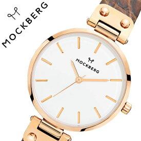 [当日出荷] モックバーグ 腕時計 MOCKBERG 時計 Original レディース ホワイト MO126 [ 正規品 人気 ブランド 女性用 彼女 妻 嫁 上品 かわいい 薄型 アクセサリー シンプル 革 ローズゴールド プレゼント ギフト ]送料無料