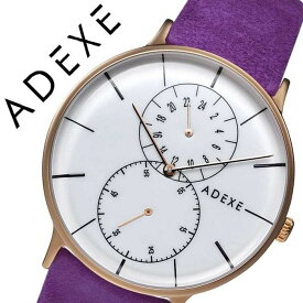 アデクス 腕時計 ADEXE 時計 アデクス時計 ADEXE腕時計 グランデ GRANDE メンズ ホワイト 1868D-03-JP17DC2 [ 正規品 人気 ブランド 流行 インスタ インスタ映え オシャレ ファッション お揃い ペア おそろい 北欧 上品 シンプル ドーム プチプラ スーツ プレゼント ギフト ]