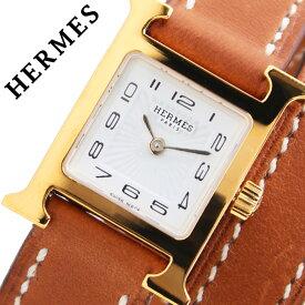 エルメス 腕時計 HERMES 時計 Hウォッチ ミニ H WATCH MINI レディース ホワイト HH1101131-VB341 [ 人気 ブランド 高級 上品 ファッション おしゃれ イエローゴールド ゴールド HH1 101 131 VB341 カジュアル スーツ フォーマル 革ベルト プレゼント ギフト ]送料無料