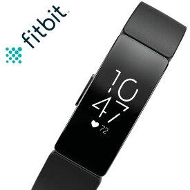 フィットビット 腕時計 Fitbit 時計 フィット ビット スマートウォッチ インスパイア HR inspire HR メンズ レディース FB413BKBK [ 人気 ブランド おすすめ 防水 スポーツ トレーニング ジム ランニング 通知 機能 iPhone 連携 健康管理 スポーツウォッチ ウェアラブル ]