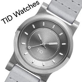 【5年保証対象商品】ティッドウォッチズ 腕時計 TIDWatches 時計 ティッド ウォッチズ TID Watches No.4 28mm レディース シルバーグレー 40303141 [ ブランド 人気 北欧 シンプル デザイナーズ ウォッチ 個性的 シンプル レザー 革 バンド ベルト 革ベルト おしゃれ ]