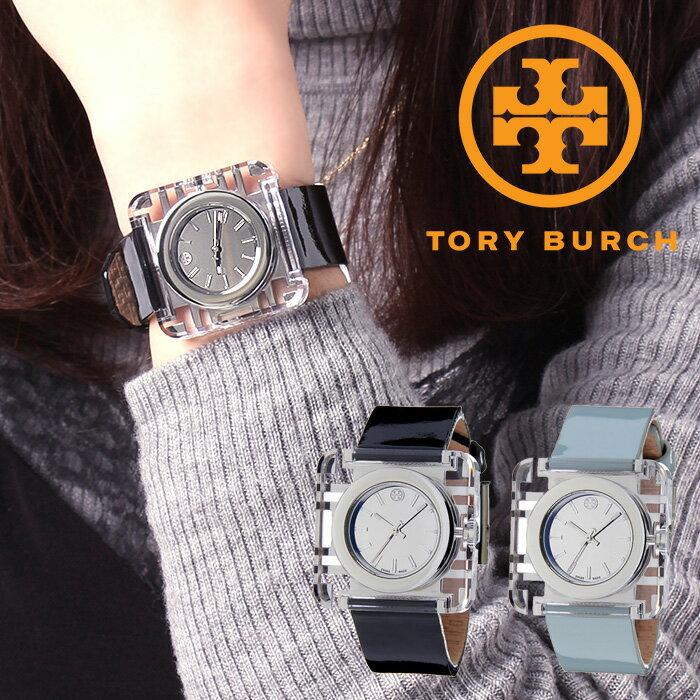 トリーバーチ 腕時計 TORYBURCH 時計 トリー バーチ 時計 TORY BURCH 腕時計 IZZIE レディース シルバー TRB3001 TRB3004 トリバ 人気 ブランド 革 ベルト ブラック ブレスレット クリスタル ストーン アクセサリー 送料無料
