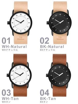【5年保証対象】[ティッドウォッチズ]ティッドウォッチ腕時計[TIDWatches時計]ティッドウォッチ時計[TIDWatches腕時計]TIDNo.1レディース/ブラックTID01-BK36-W[革ベルト/おしゃれ/インスタ/モデル/通販/北欧/ペア/ダークブラウン/ホワイト][送料無料]