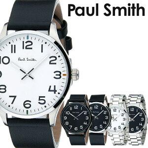 ポールスミス時計[paulsmith腕時計]ポールスミス腕時計[paulsmith時計]テンポTEMPOメンズ/ブラックP10061[新作/革ベルト/レザー/トレンド/ブランド/人気/ギフト/プレゼント/シルバー/ビジネス/シンプル][送料無料]