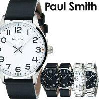 b967e77b9a69 ポールスミス 時計 paul smith 腕時計 ポール スミス 腕時計 paul smith 時計 テンポ TEMPO メンズ ブラック  P10061 新作 革 ベルト レザー トレンド ブランド 人気 ...