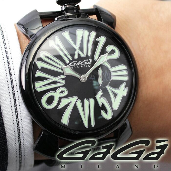 ガガミラノ 時計 GaGaMILANO 腕時計 GaGa MILANO ガガ ミラノガガ腕時計 GaGa腕時計 スリム PVD SLIM 46MM PVD メンズ レディース 男性 女性 5082.2 [ 人気 プレゼント ギフト ]送料無料