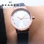 スカーゲン腕時計SKAGEN時計スカーゲン時計SKAGEN腕時計ハーゲンHAGENメンズレディースユニセックスシルバーSKW6289人気流行ブランド防水革ベルトレザー北欧ペアおそろいシンプルプレゼントギフト送料無料