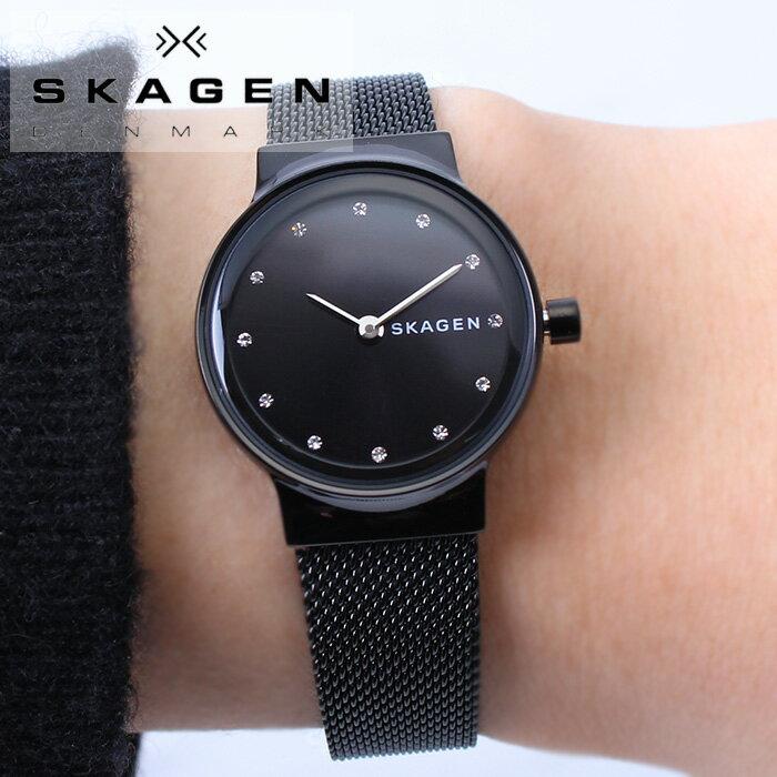 スカーゲン 腕時計 SKAGEN 時計 スカーゲン 時計 SKAGEN 腕時計 メンズ レディース ユニセックス ブラック SKW2747 人気 流行 ブランド 防水 ベルト ステンレス ステンレススティール 北欧 ペア おそろい シンプル プレゼント ギフト 送料無料