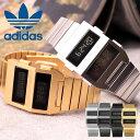 アディダス オリジナルス 腕時計 adidas originals 時計 アディダス時計 アーカイブ M3 ARCHIVE メンズ レディース 男性 女性 シンプル ゴールド シルバー おしゃれ ユニーク デジタル 液晶 タイマー ステンレス 金属 ベルト 人気 ブランド スポーツ おしゃれ プレゼント