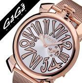 ガガミラノ腕時計[GaGaMILANO時計GaGaMILANO腕時計ガガミラノ時計]スリム46MMプラカットオロ[SLIM46MMPLACCATOORO]/メンズ時計GG-5081.2送料無料【楽ギフ_包装】