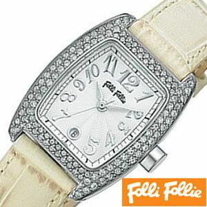 フォリフォリ腕時計[FolliFollie](FolliFollie 腕時計 フォリフォリ 時計 フォリフォリ時計) レディース時計 S922ZI-SLV-IVY[フォリフォリ IVY ギフト バーゲン プレゼント ご褒美][おしゃれ 腕時計][ 父の日 父の日ギフト ]