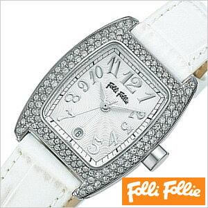 フォリフォリ腕時計 FolliFollie腕時計 フォリフォリ 時計 FolliFollie 時計 フォリフォリ 腕時計 Folli Follie フォリ フォリ FolliFollie時計 フォリフォリ時計 レディース レディース腕時計 レディース時計 S922ZI-SLV-WHT 新作 人気 生活 防水 送料無料 [ クリスマス ]