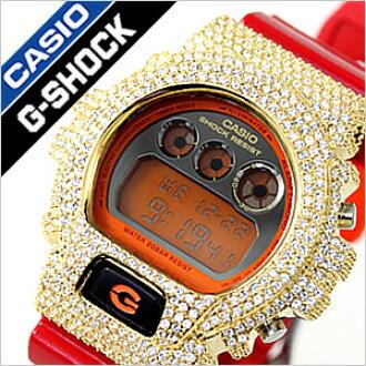 卡西欧G打击手表特别定做覆盖物[CASIO G-SHOCK G-SHOCK手表卡西欧G打击G打击钟表]DW-6900系列特别定做零件特别定做情况[白色情人节]